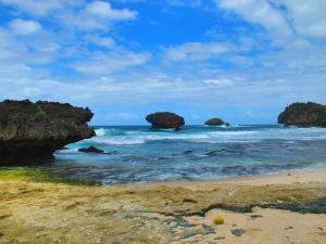 pemandangan pantai Srau