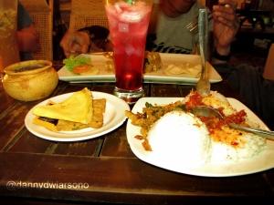 hidangan di Rumah Makan Raminten