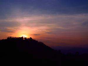 Matahari sudah mulai nampak