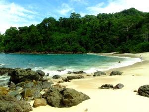 Landscape Pantai Teluk Hijau
