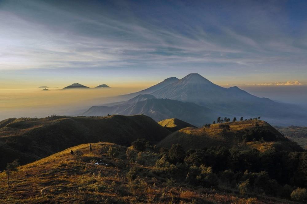 Landscape Gunung Prau