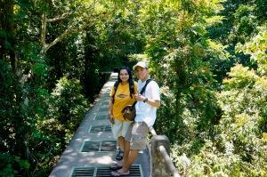 narsis di atas jembatan bersama mbak ndu